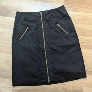 The Limited Zipper Front Skirt